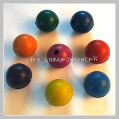8 Color Balls for Tuning forks