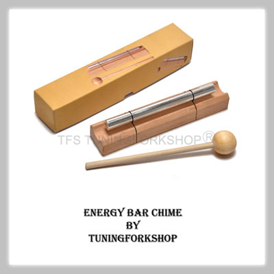 "Energy Bar Chime Throat Chakra Tone ""G"""