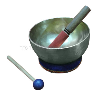 "6"" Hand Hammered 7 Metal Tibetan Meditation Singing Bowl"