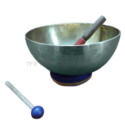 "10"" Hand Hammered 7 Metal Tibetan Meditation Singing Bowl"